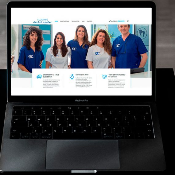 Proyectos de Marketing Digital: Portfolio Aljarafe Dental Center Zasapp Agencia de Marketing Digital en Sevilla
