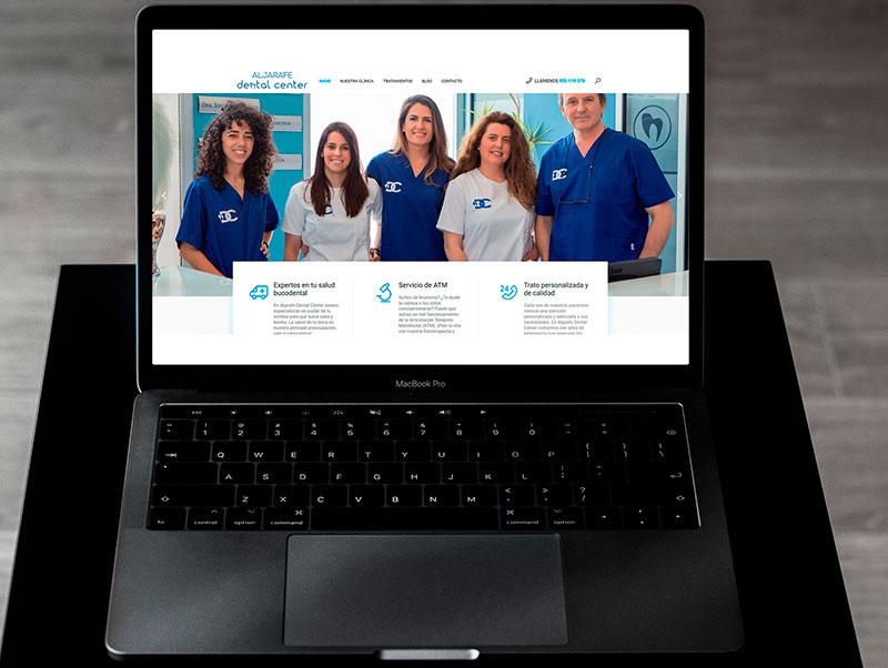 Proyectos de Marketing Digital: Portfolio Aljarafe Dental Center Zasapp Agencia de Marketing Digital en Sevilla