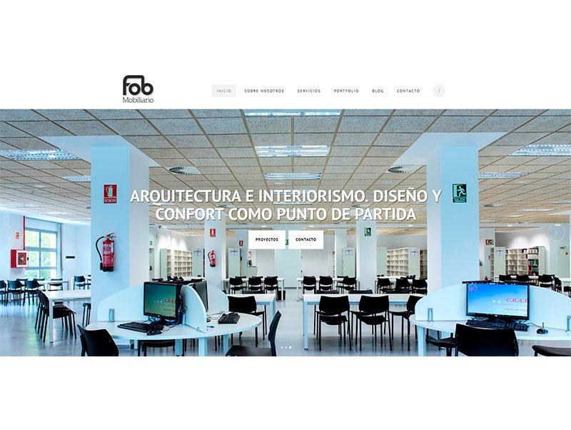 Proyectos de Marketing Digital: Portfolio FOB Mobiliario Zasapp Agencia de Marketing Digital en Sevilla