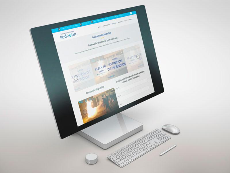 Proyecto diseño web en Sevilla - Kedextin