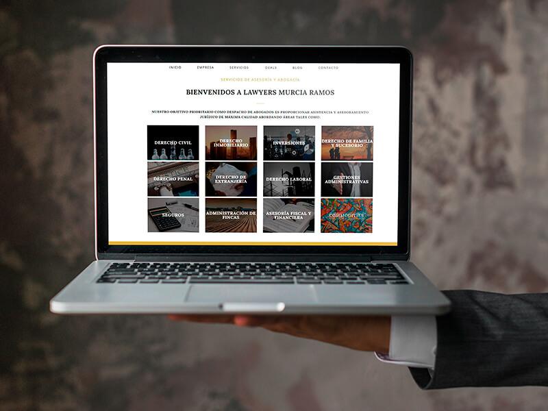 Diseño web en Sevilla - Abogada Murcia Ramos