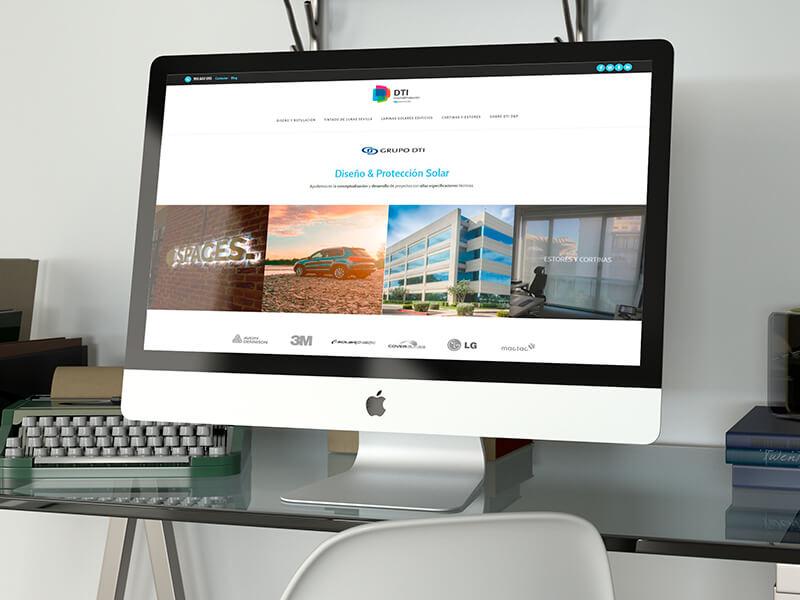 Diseño web en Sevilla - DTI