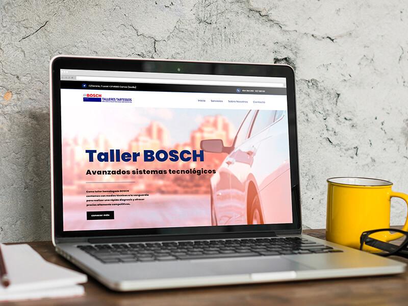 Diseño web Sevilla - Talleres Tartessos