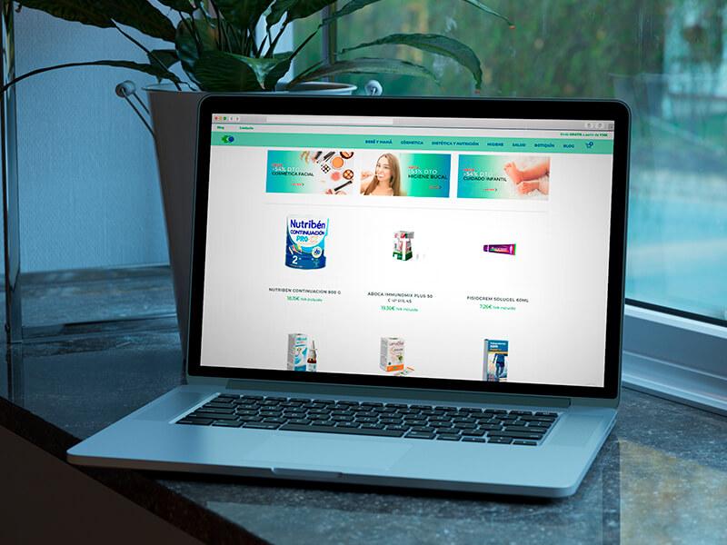 Diseño de tienda online en Sevilla - Vendefarma