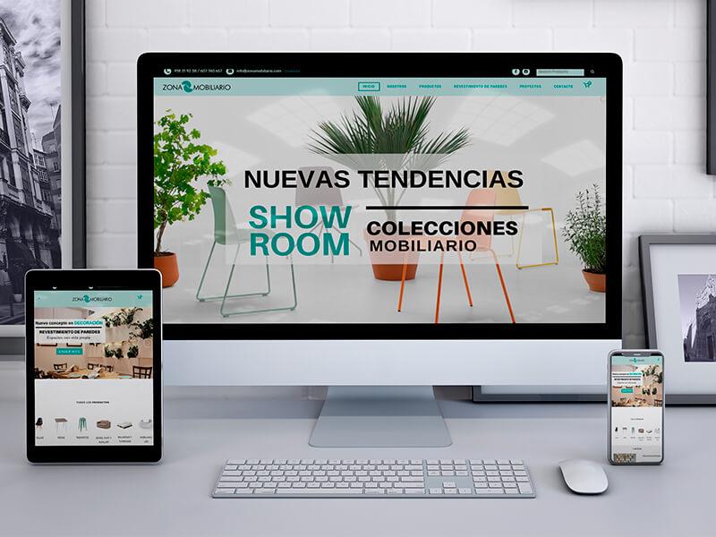 Tienda Online en Sevilla - Zona Mobiliario